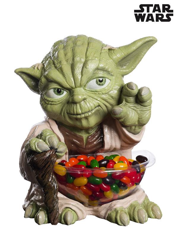 yoda star wars moulded mini statue candy bowl sunbury costumes