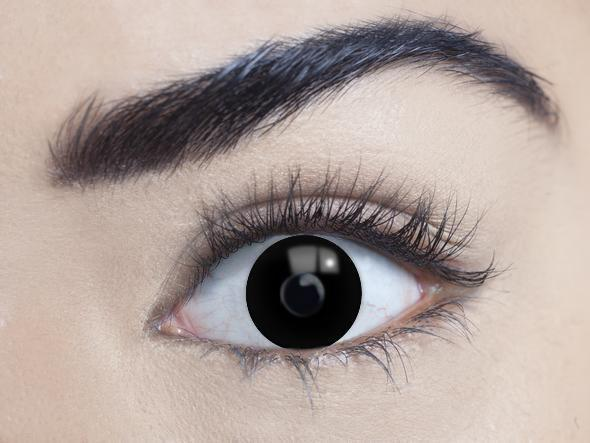 mesmereyez black out coloured contact lens sunbury costumes