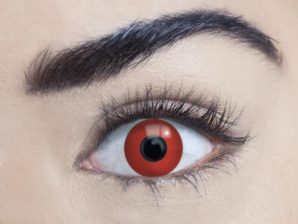 mesmereyez bloody red coloured contact lens sunbury costumes