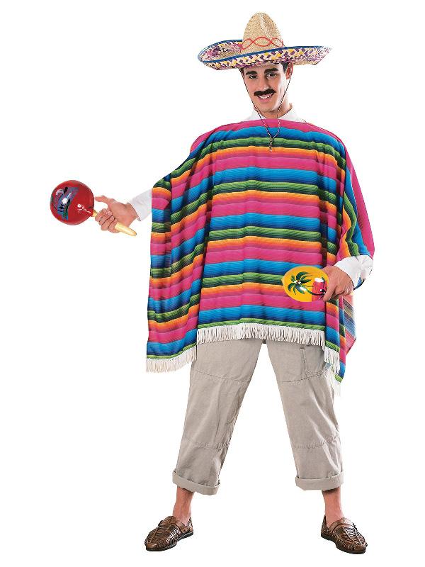 mexican serape poncho sombrero fiesta costume sunbury costumes