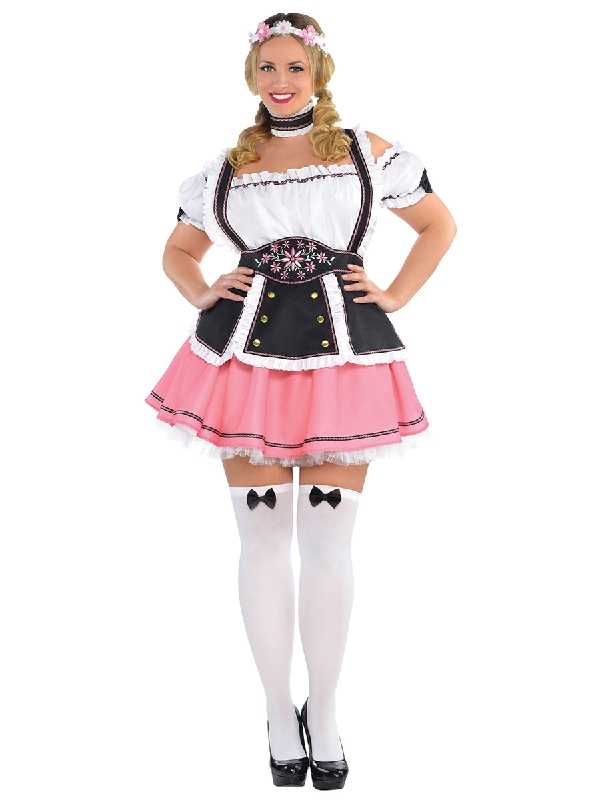fraulein plus size dress oktoberfest costume sunbury costumes