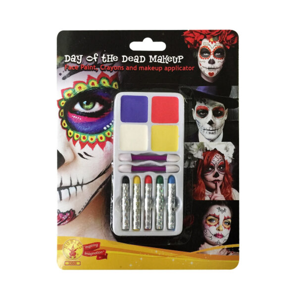 day of the dead makeup kit body art sunbury costumes