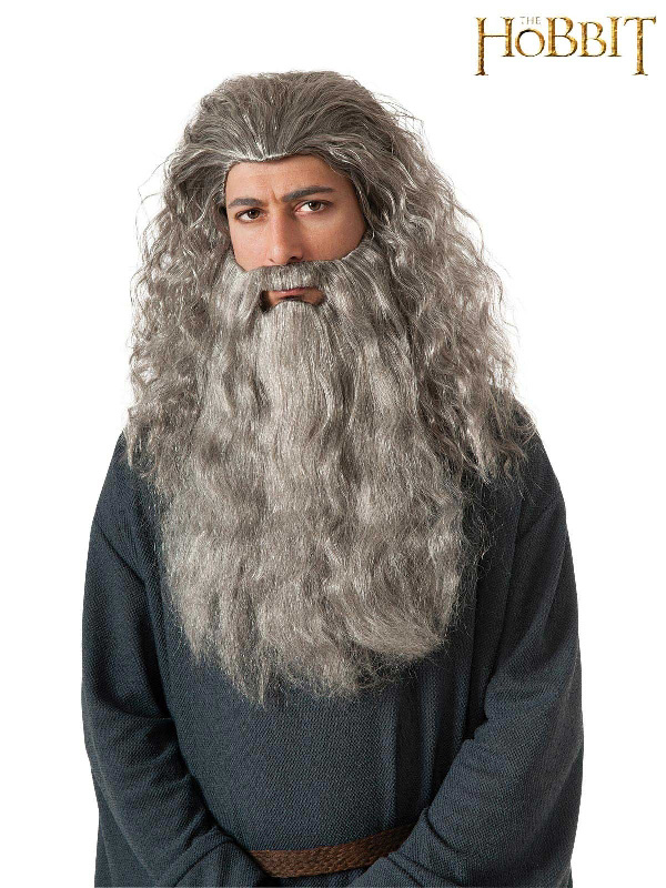 gandalf the hobbit beard wig kit sunbury costumes