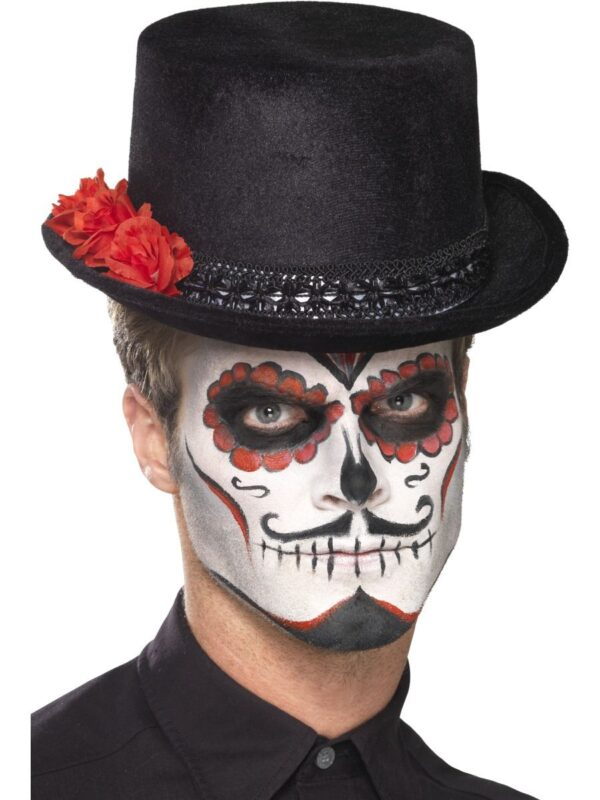 day of the dead top hat halloween hat sunbury costumes