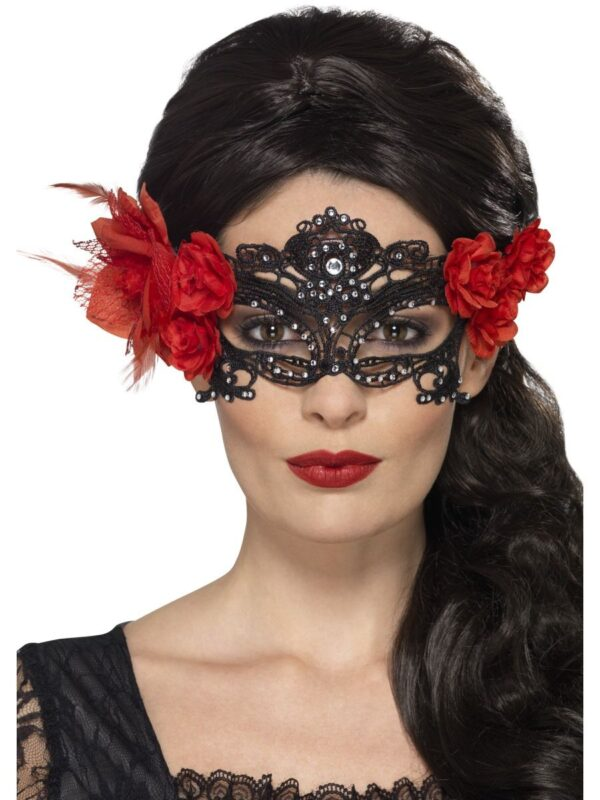 day of the dead lace filigree masks sunbury costumes