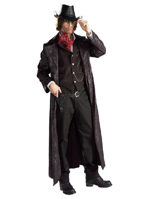 gunslinger cowboy western wild west mens costume sunbury costumes