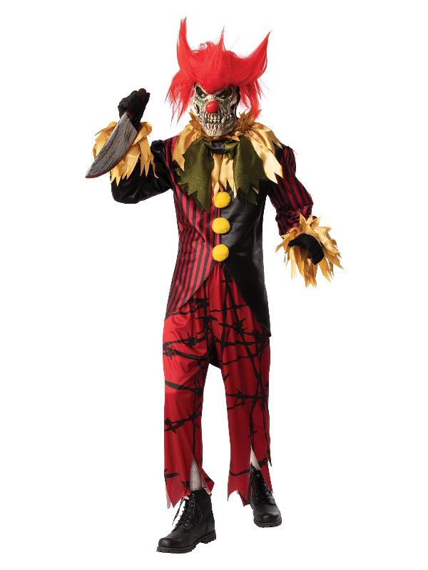 crazy clown halloween costume sunbury costumes