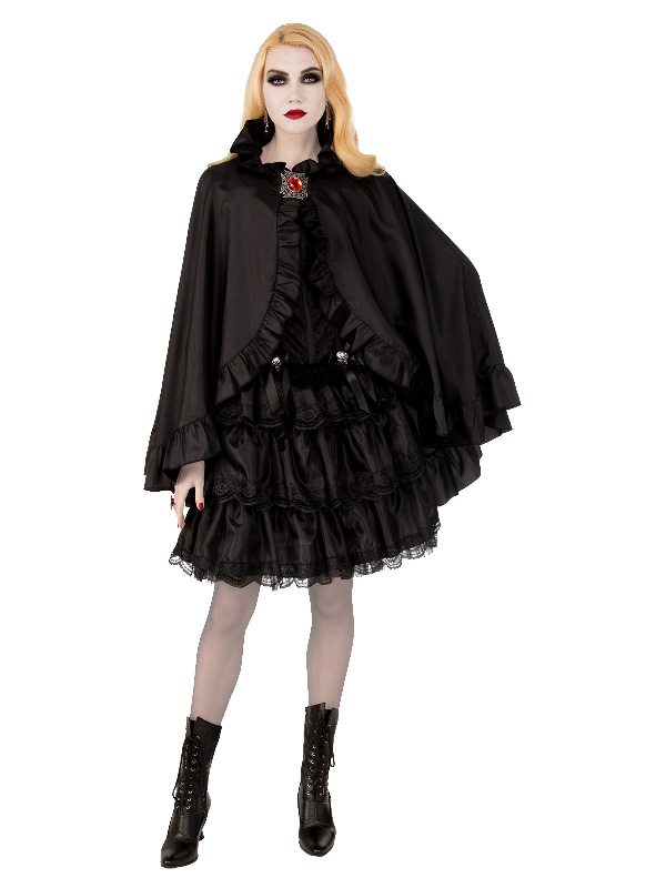 black satin cape halloween costume sunbury costumes