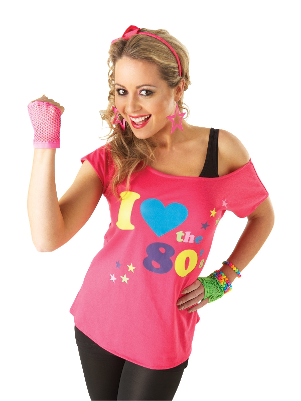 i love 80s tshirt costume sunbury costumes