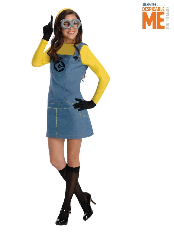 minion ladies costume despicable me adults sunbury costumes