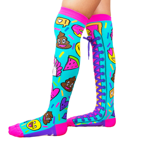 mad mia emoji socks sunbury costumes