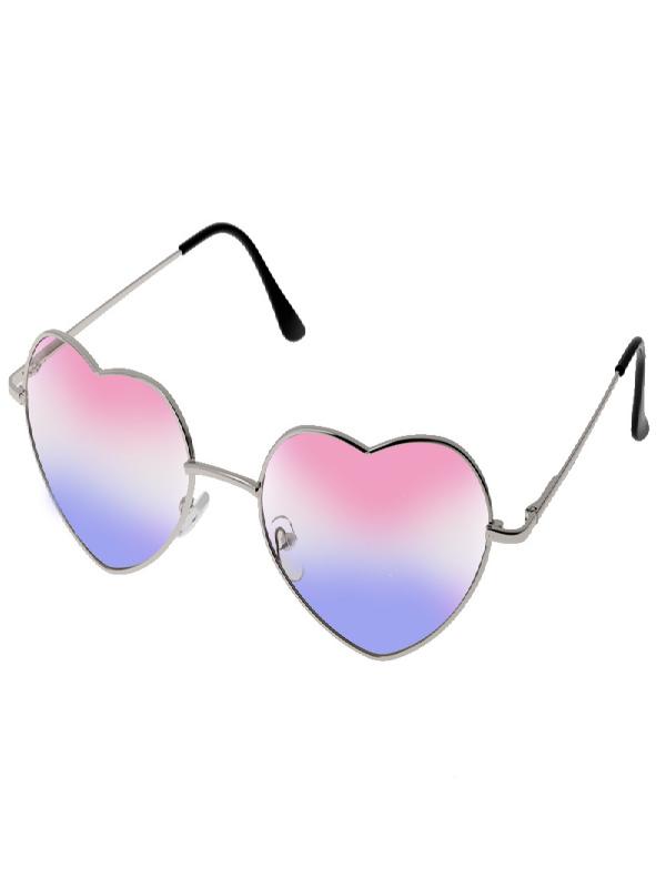 60s heart shaped hippie glasses sunbury costumes