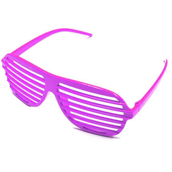 neon pink 80s slot glasses sunbury costumes