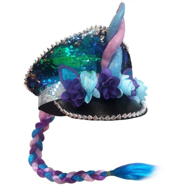 unicorn sequin festival hat head accessories sunbury costumes