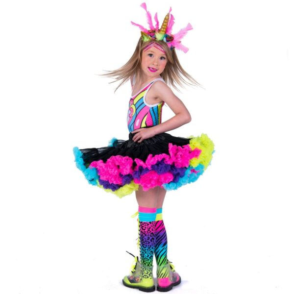 mad mia black pettiskirt costume sunbury costumes