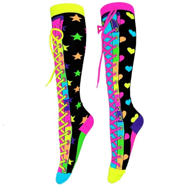 mad mia confetti socks sunbury costumes