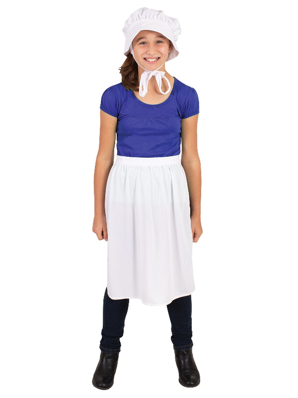 bonnet apron set 100 days of prep sunbury costumes
