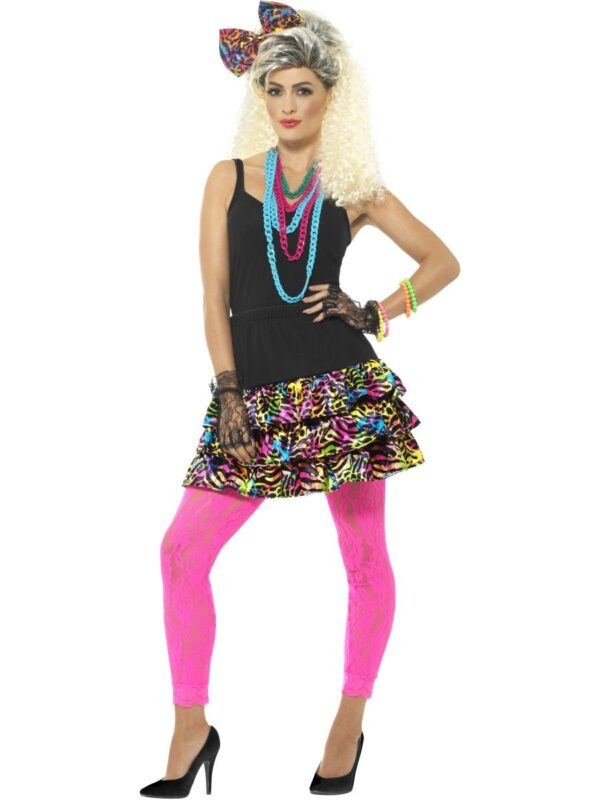 80s party girl costume kit sunbury costumes