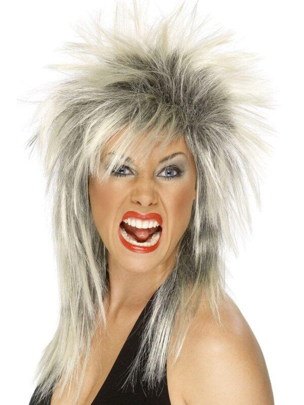 80s rock diva mullet wig sunbury costumes