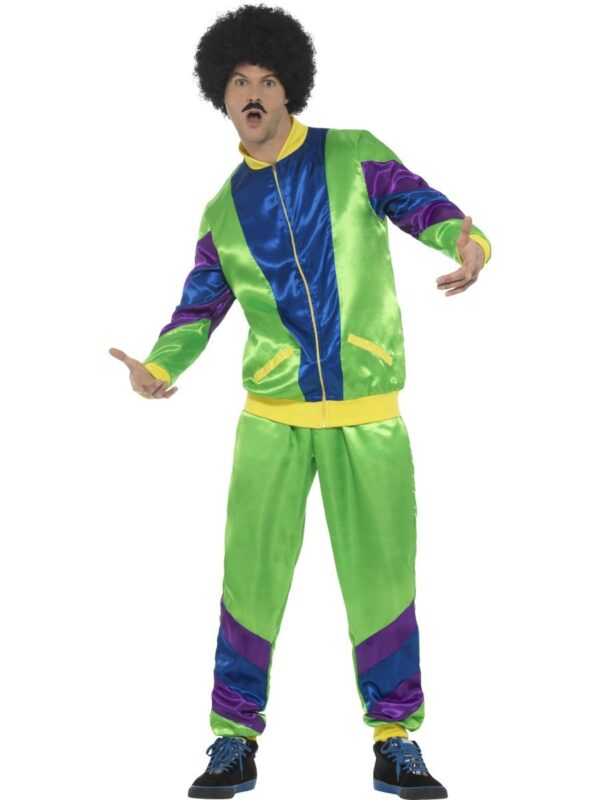 80s shell suit male tracksuit costume sunbury costumes