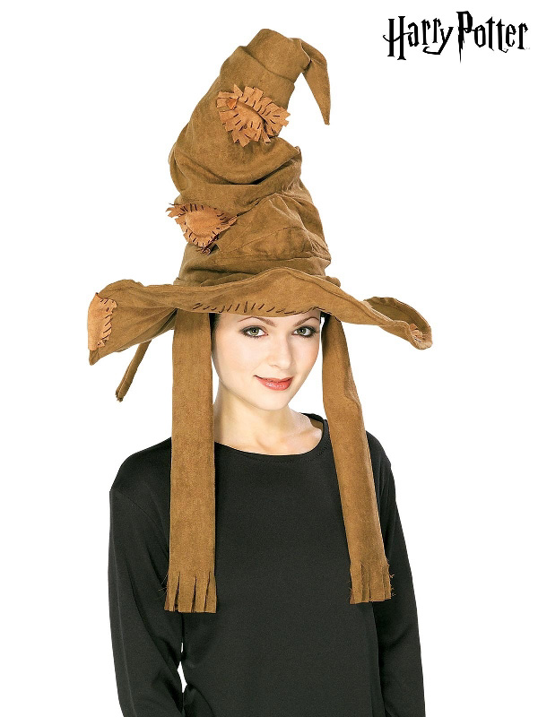 sorting hat brown harry potter costume sunbury costumes