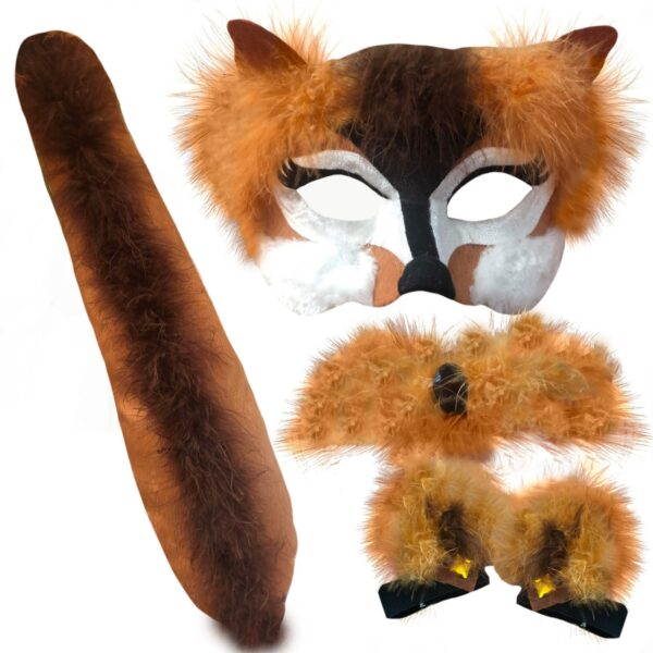 fox animal costume set book week sunbury costumes