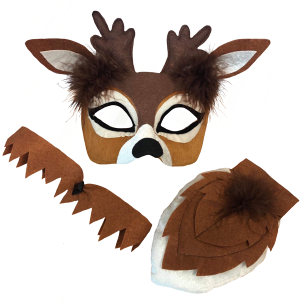 deer mask animal set sunbury costumes