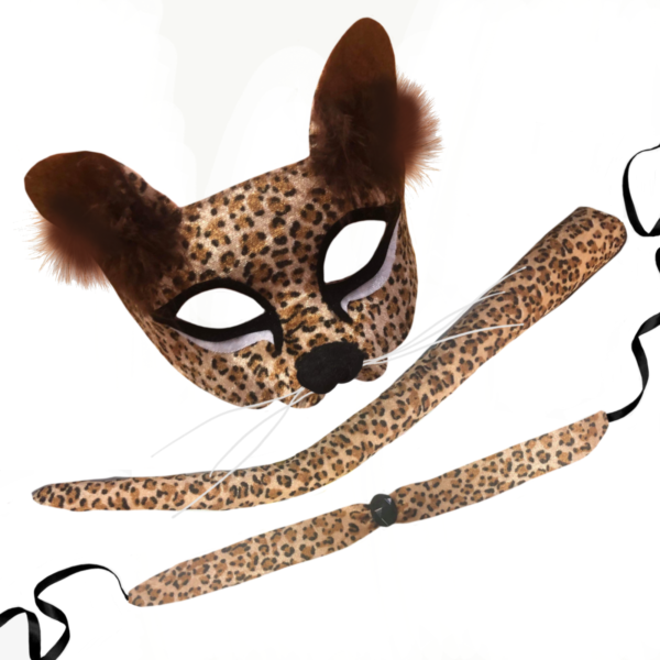 leopard animal mask costume set book week sunbury costumes