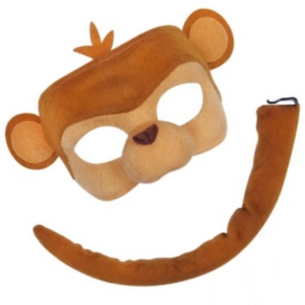 monkey mask animal set sunbury costumes