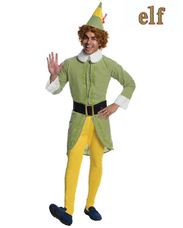 buddy the elf adult christmas costume sunbury costumes