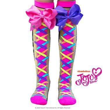 jojo siwa mad mia unimoji child socks sunbury costumes