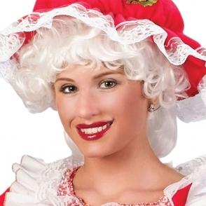 mrs claus white wig christmas accessories sunbury costumes