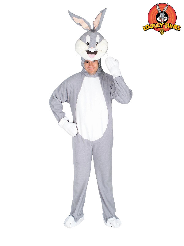 bugs bunny jumpsuit adult costume looney tunes sunbury costumes