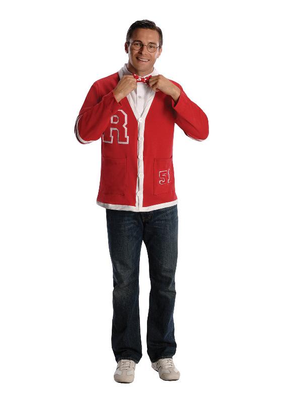 50s nerd guy grease adult mens jacket sunbury costumes