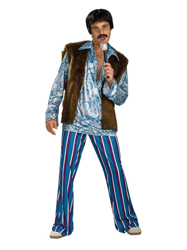 70's psychedelic shirt male adult costume sunbury costumes