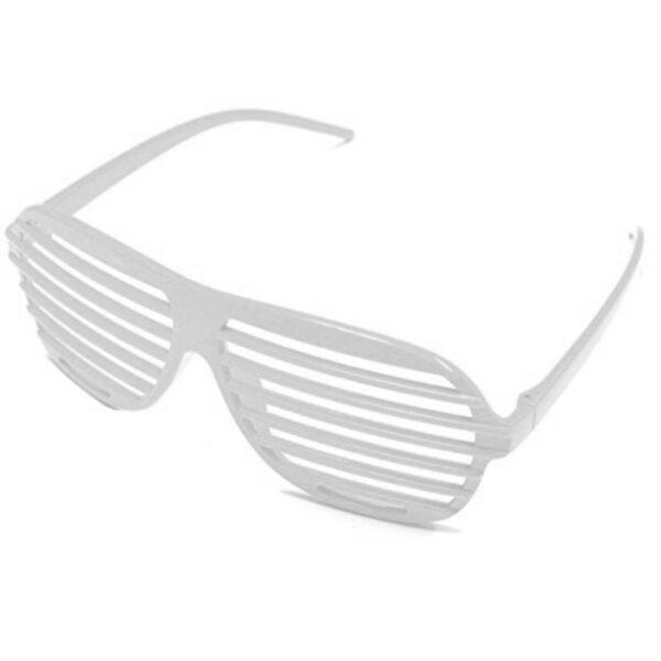 80s white slot glasses accessories sunbury costumes