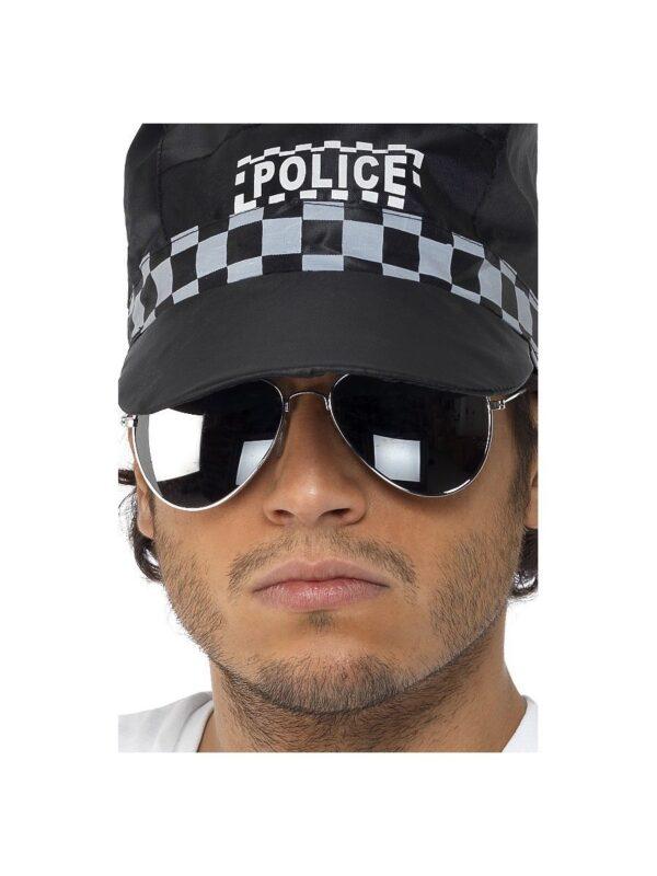 aviator mirrored specs top gun police accessories sunbury costumes