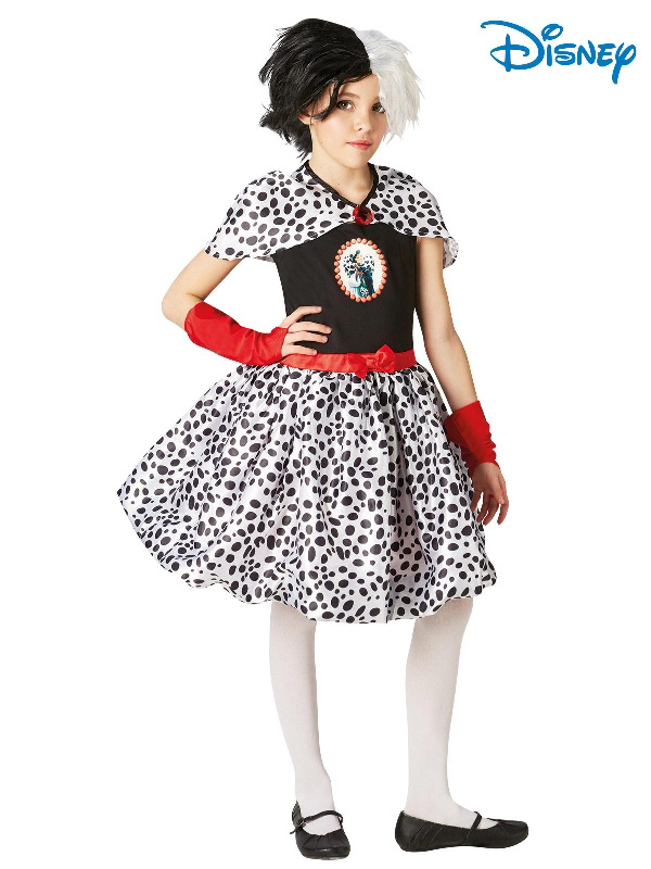 cruella de vil disney tween costume book week movies villains sunbury costumes
