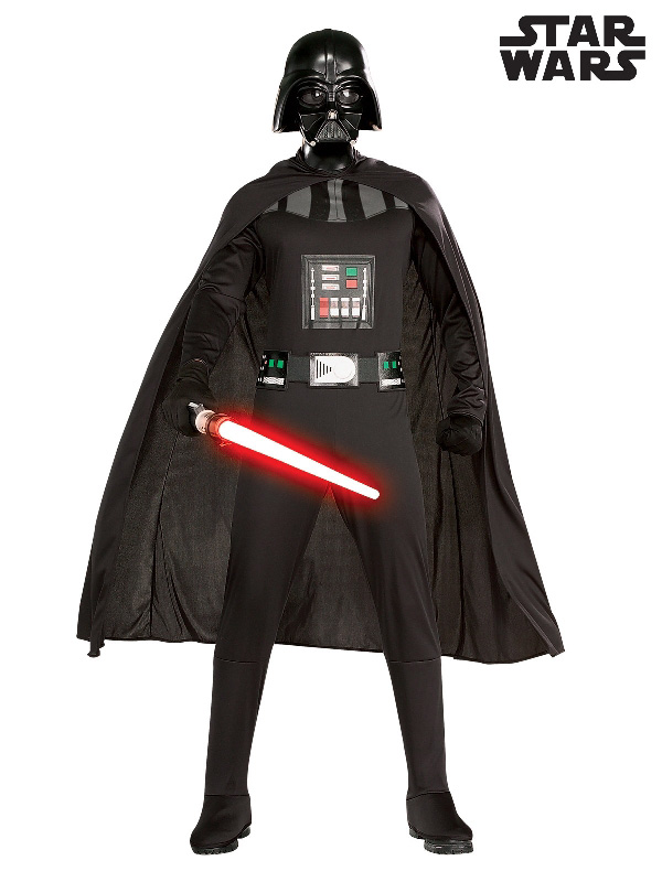 darth vader star wars mens costume adult villain sunbury costumes