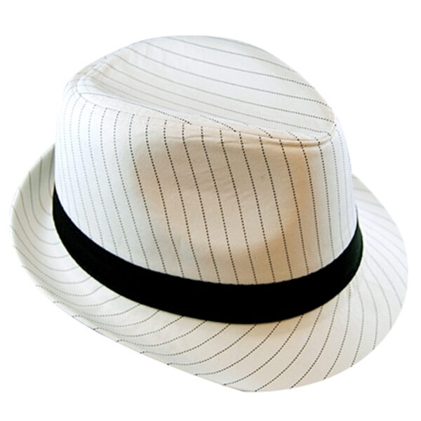 pinstriped gangster white hat black and white 1920's accessories sunbury costumes