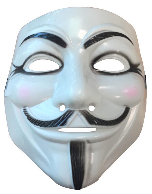money heist anonymous white mask accessories sunbury costumes