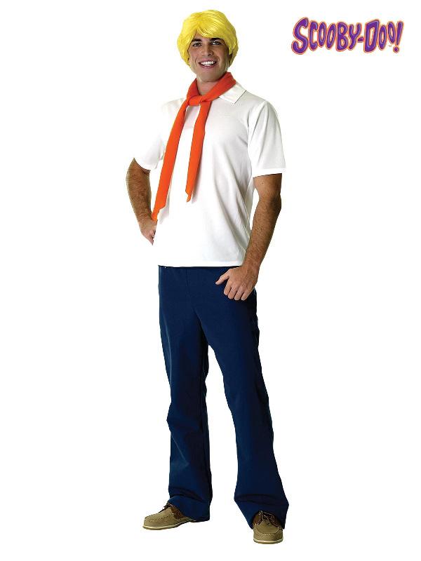 fred jones scooby doo movie characters adult mens costume sunbury costumes