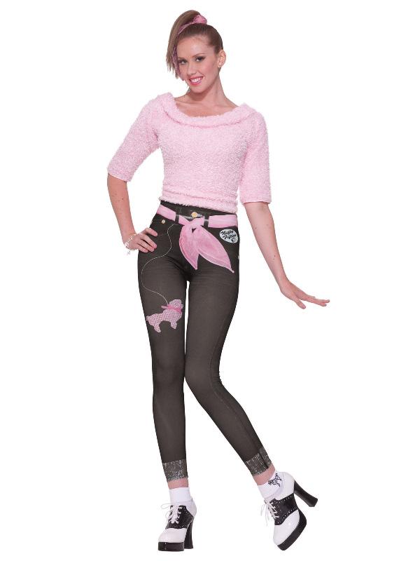 50's jean leggings jeggings denim character sunbury costumes