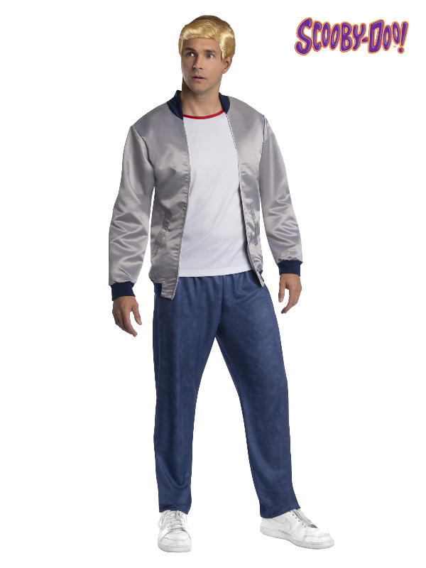 fred jones scooby doo movie characters adult costume sunbury costumes