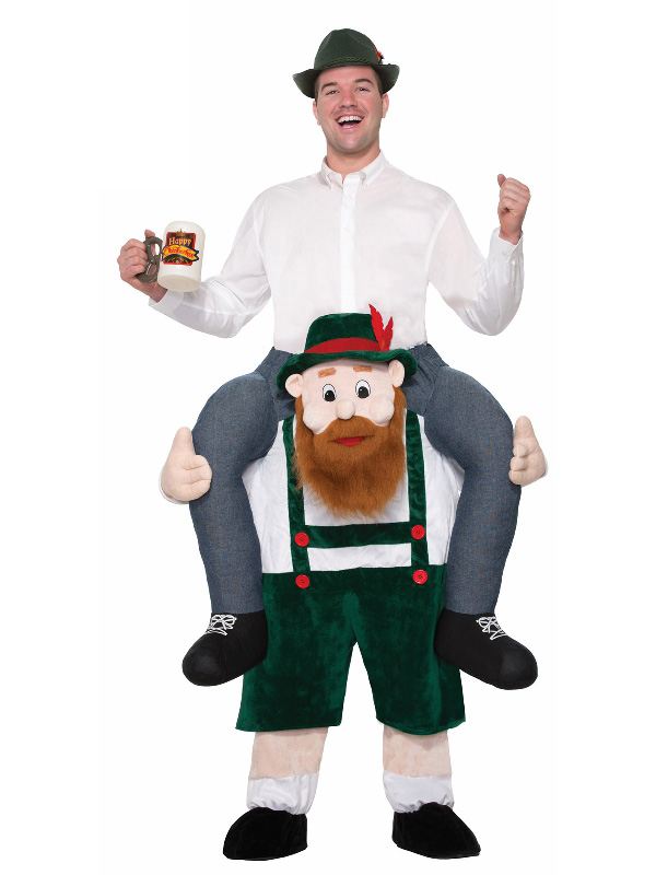 oktoberfest novelty costume adult beer buddy piggy back sunbury costumes