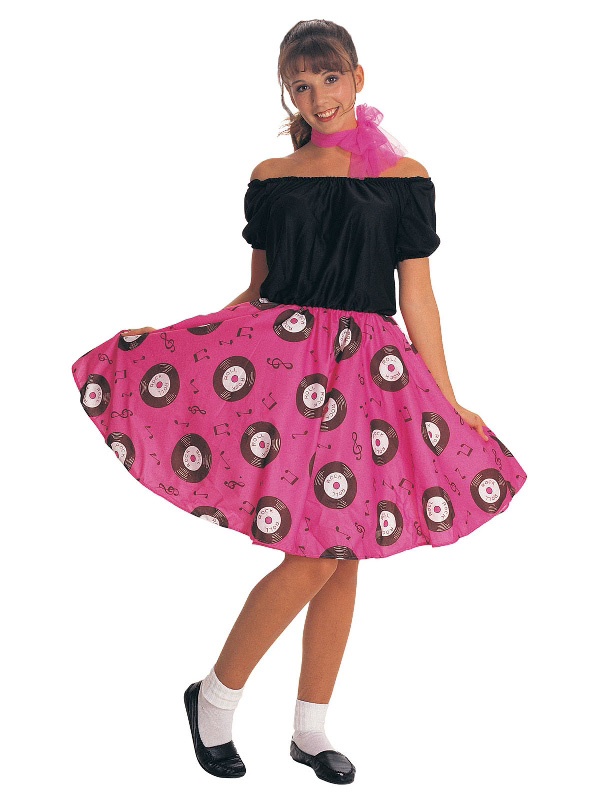 50's poodle dress rock and roll ladies costume sunbury costumes