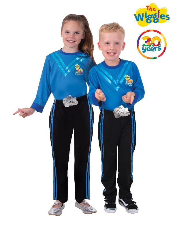 the wiggles anthony wiggle toddler child blue costume sunbury costumes