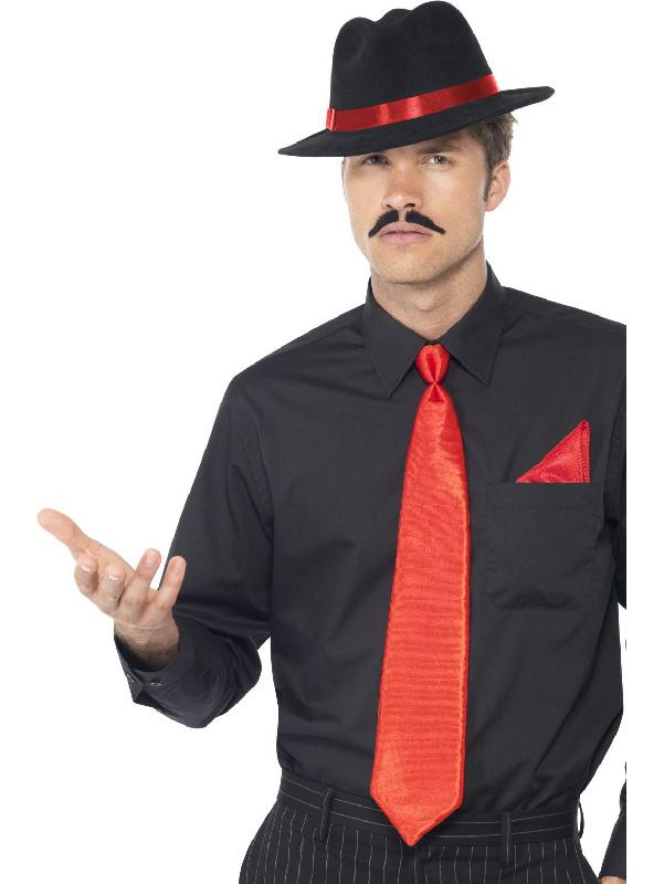20s gangster red black costume set sunbury costumes