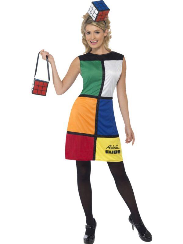 rubiks cube costume ladies adults 80s characters sunbury costumes