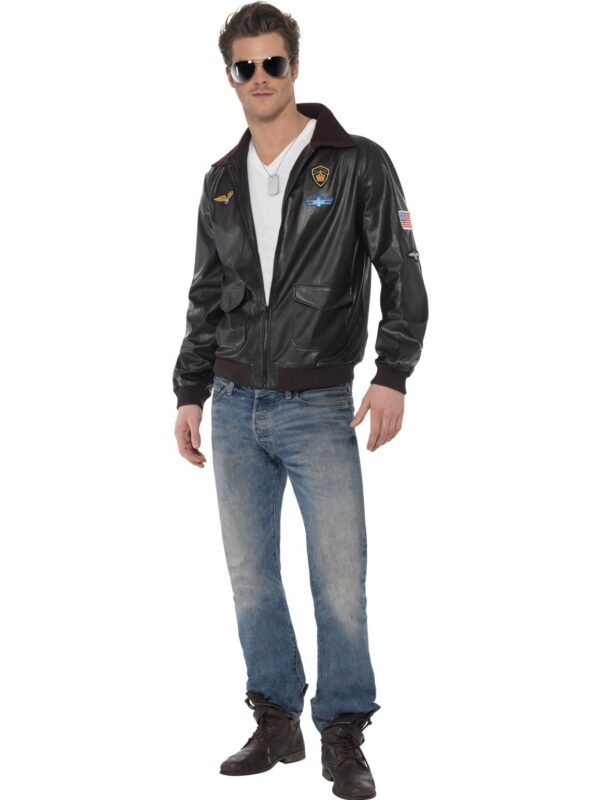 top gun bomber jacket 80s movies character sunbury costumes